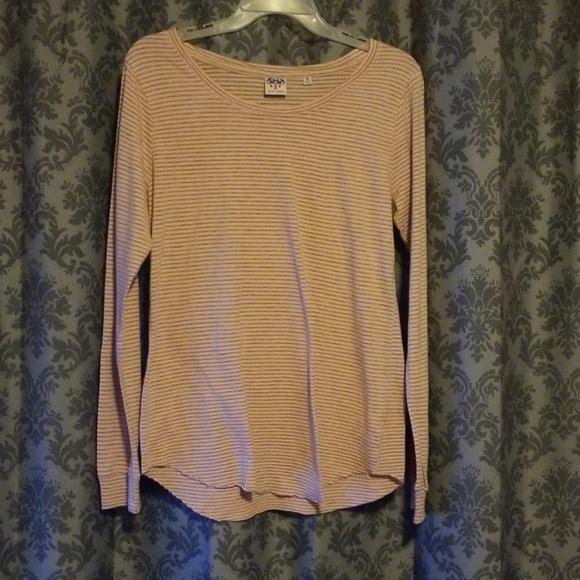 Junk Food Clothing Tops - P.S. I LOVE YOU long sleeve Junk Food top